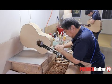 Takamine Factory Tour