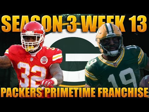 Offensive Showdown of the Ages! Madden 18 Packers Franchise | Primetime 2.0 Season 3 Week 13!