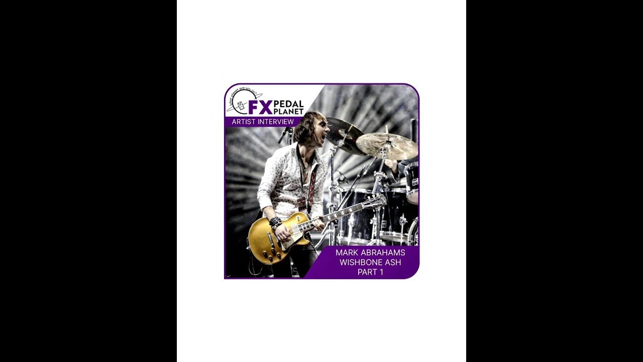 FX Pedal Planet Interview With Mark Abrahams