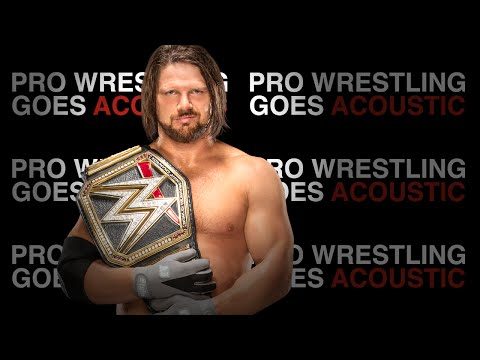 AJ Styles Theme Song (WWE Piano Cover) - Pro Wrestling Goes Acoustic