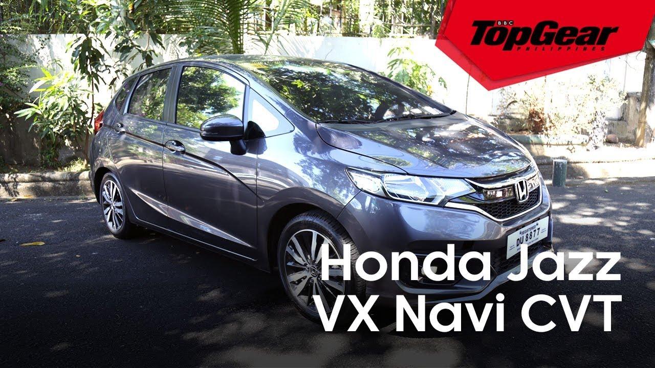 2018 Honda Jazz Vx Navi Cvt Youtube