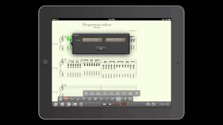 Progression for iPad:  Key Signature, Time Signature and Tempo