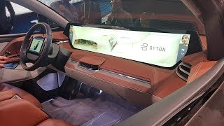 #CES2019 Día 1: Hablamos de Byton y su vehículo eléctrico.