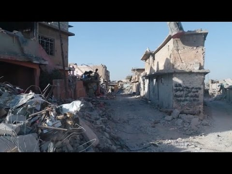 Drone footage shows Mosul's devastation
