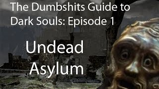 the dumbshits guide to dark souls undead asylum tutorial