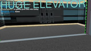 HUGE Schindler HT Traction Elevator @ NorthWest Mall in ROBLOX