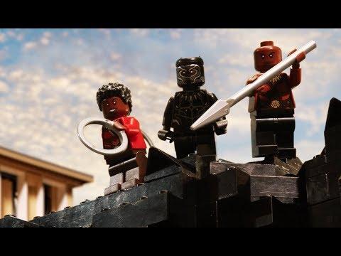 Black Panther vs Killmonger - LEGO Marvel Super Heroes - Stop Motion