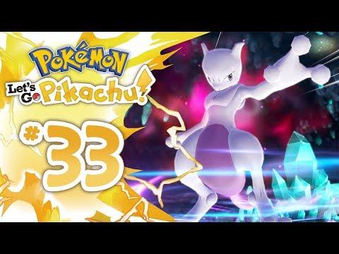 CATTURIAMO MEWTWO SENZA MASTER BALL! - Pokemon Let's Go Pikachu ITA - Episodio 33