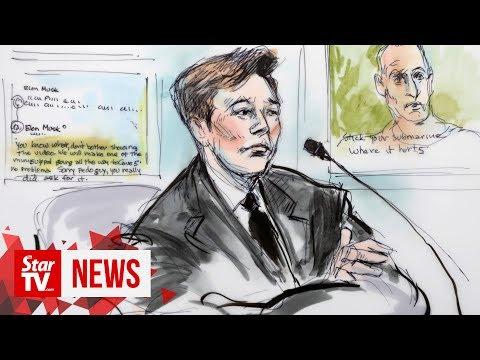 Elon Musk goes on trial over 'pedo guy' tweet