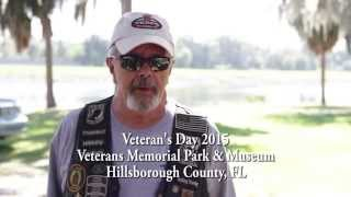 Support Our Troops presents Soldier Stories - Jim - Hillsborough County Veterans Day 2015