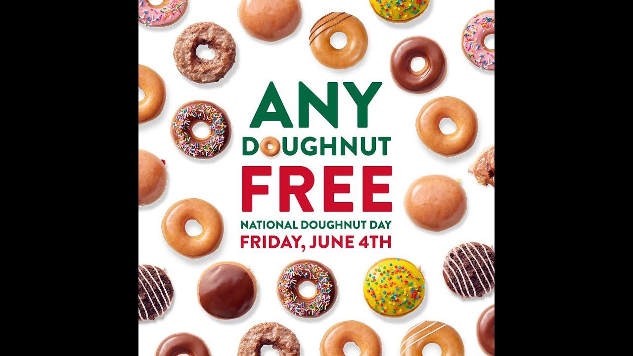 National Donut Day 2021 deals: Get free donuts at Krispy Kreme ...