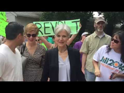 Dr. Jill Stein (part 1/2) Presidential Campaign GREEN PARTY Colorado Springs 08/27/2016