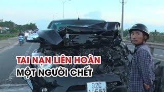 Tai nạn liên hoàn giữa 5 xe trên QL1, một người chết tại chỗ