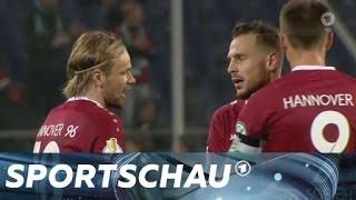 DFB-Pokal: Hannover zerlegt Düsseldorf | Sportschau