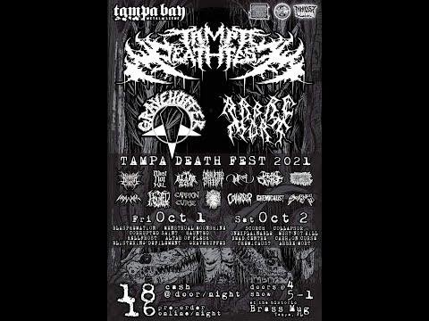 Gravehuffer - live at Tampa Death Fest 2021 @ Brass Mug