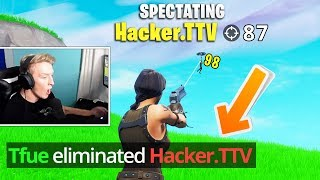 6 Fortnite Streamers Who KILLED HACKERS LIVE.. (Tfue, Ninja, Cizzorz)