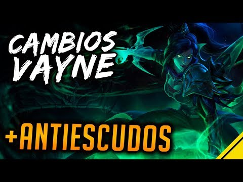 CAMBIOS Vayne y Malphite NUEVOS ITEMS Antiescudos | Noticias League Of Legends LoL