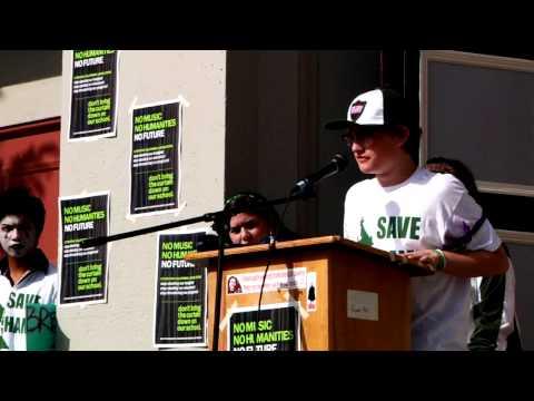 HAMILTON HIGH SCHOOL WALK-OUT: SAVE OUR SCHOOLS