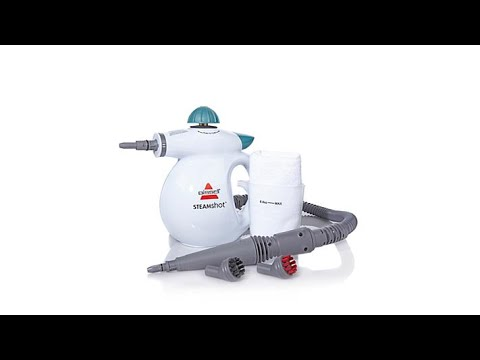 Bissell Steam Shot Hard Surface Steam Cleaner Youtube