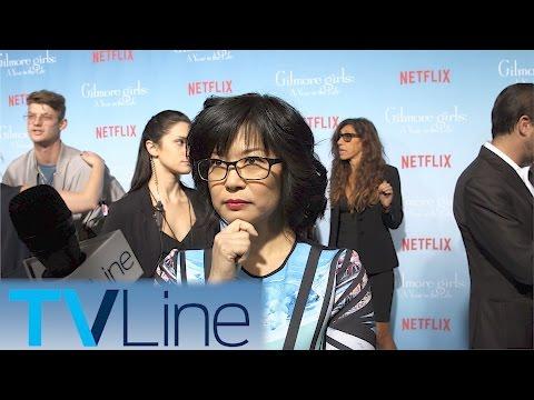Keiko Agena    Gilmore Girls Red Carpet Premiere     TVLIne