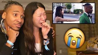 Watching Our Wedding Video For The First Time | Our First Reaction
