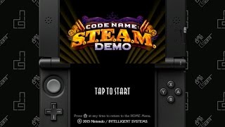 Code Name: S.T.E.A.M. Demo - 110 Minute Playthrough [3DS]