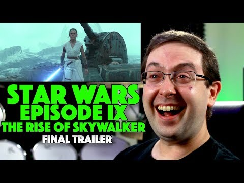 Woody and Wilcox - This Reaction Video To A Man Watching The Star Wars Trailer Is Priceless!
