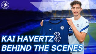 Kai Havertz Signs For Chelsea | Behind The Scenes