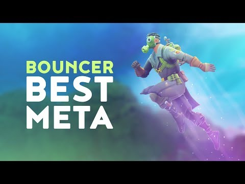 BOUNCER THE BEST META IN GAME (Fortnite Battle Royale)