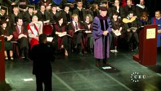Central European University celebrates its 21st annual graduation ceremony - June 14, 2012