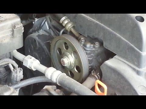 Power Steering Pump Overhaul/Rebuild 2002 Honda Odyssey