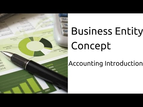 What is Business Entity Concept