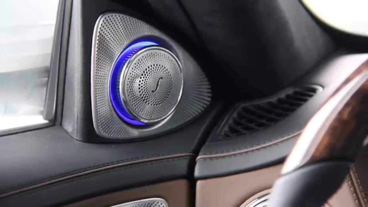 Test Burmester High End 3d 1540w Mercedes Benz S 500 L