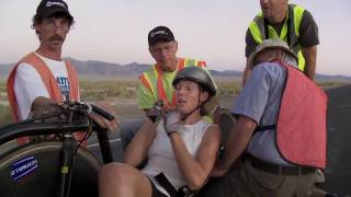 Barbara Buatois 121.437 kph, 75.458 mph World Speed Bicycle Record Womans