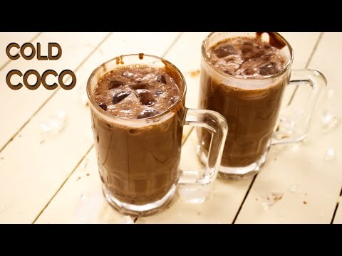Cold Coco Recipe - Surti Chocolate / Cocoa Milk Shake - Cook
