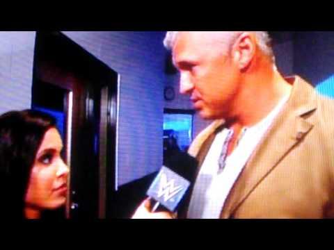 Shane McMahon backstage