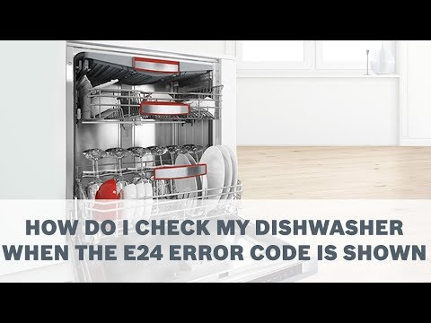 Bosch Dishwasher Reset E 15 Error Code
