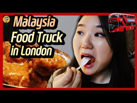 EP1. Malaysia Foodtruck in Camden Market of London?! |Jade's