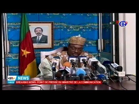 EQUINOXE TV - JT 20H00 (Extradition vers le Cameroun de AYUK TAMBE) du 29/01/2018