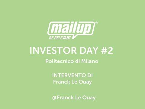 MailUp Investor Day | Politecnico di Milano 21/01/2015 | parte 2