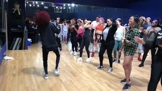 Ashley Everett teaching Beychella (Everybody Mad) choreography