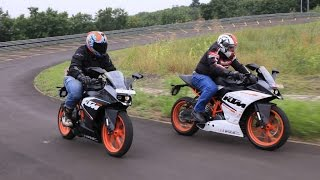 KTM RC 200 and RC 390 First Ride   Video Review   ZEEGNITION