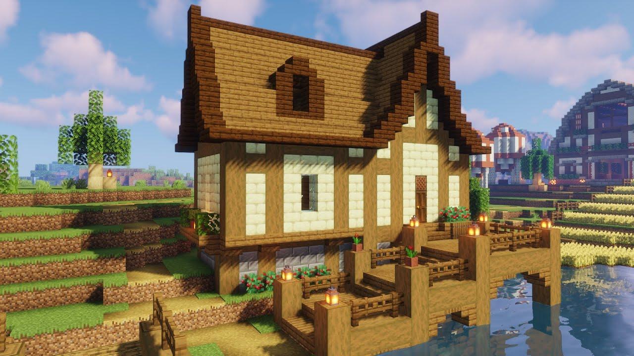 【Minecraft】大人のマイクラPart17 『水辺の民家をつくる』