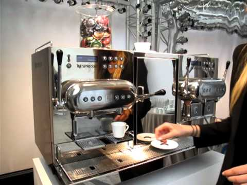 la machine caf aguila de nespresso boncaf paris youtube. Black Bedroom Furniture Sets. Home Design Ideas