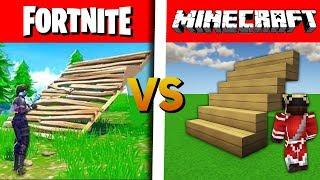 FORTNITE VS MINECRAFT !
