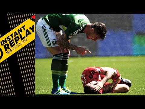 Instant Replay: Should Liam Ridgewell have been sent off against TFC?