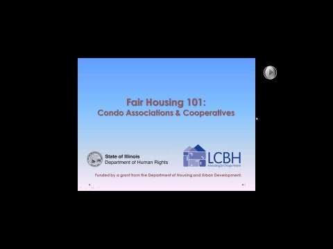 Fair Housing 101: Condo Associations & Cooperatives