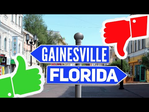 Pros and Cons of living in Gainesville, FL