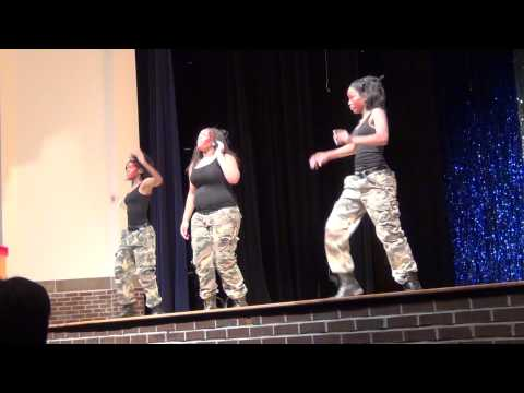 Sandy Creek HS Talent Show 2011 Propane Tori Alexander Ashley Brown Cierra Dudley