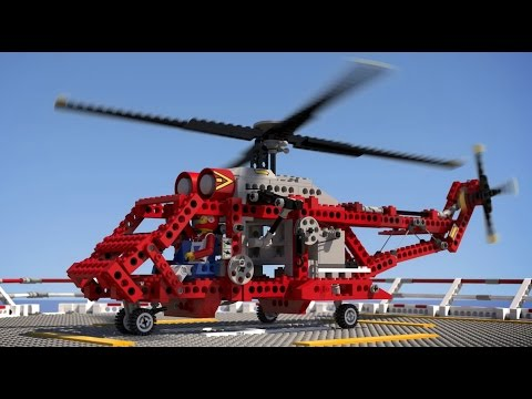 lego technic 8856 rescue helicopter youtube. Black Bedroom Furniture Sets. Home Design Ideas